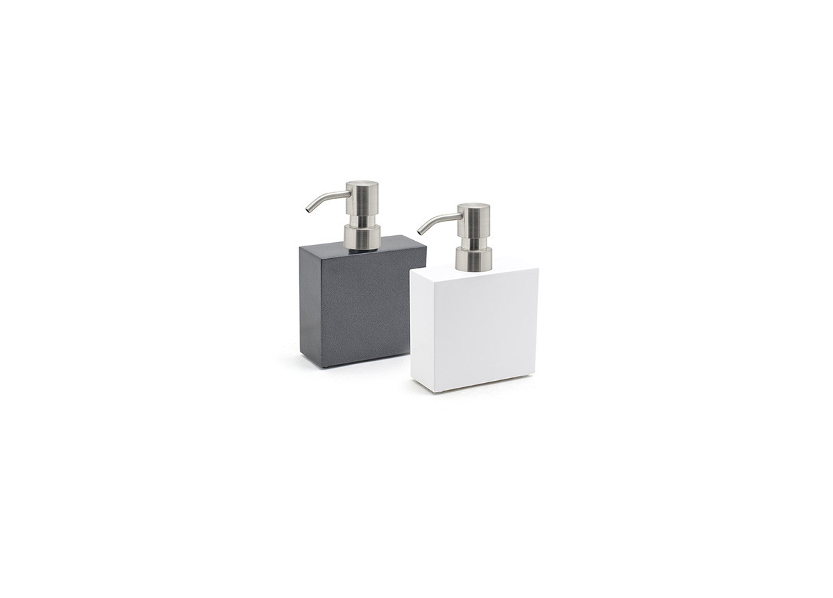 11oz New York Soap Pump - Mirrored Stainless Top