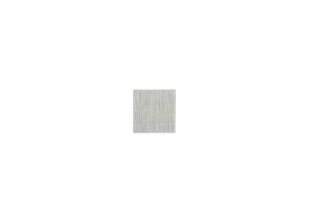 "4"" Square Metroweave Coaster - Mesh Grey"