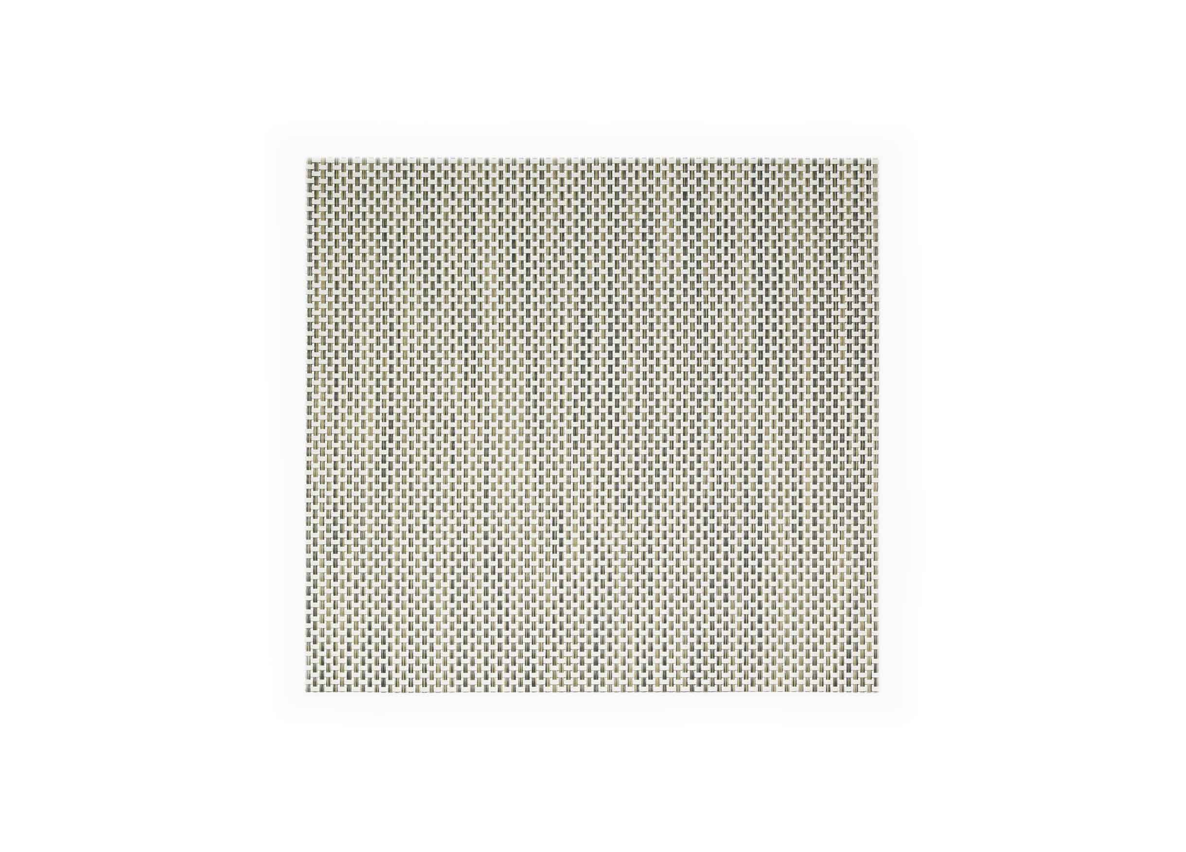 "14"" x 13"" Basketweave Mat - Tan"