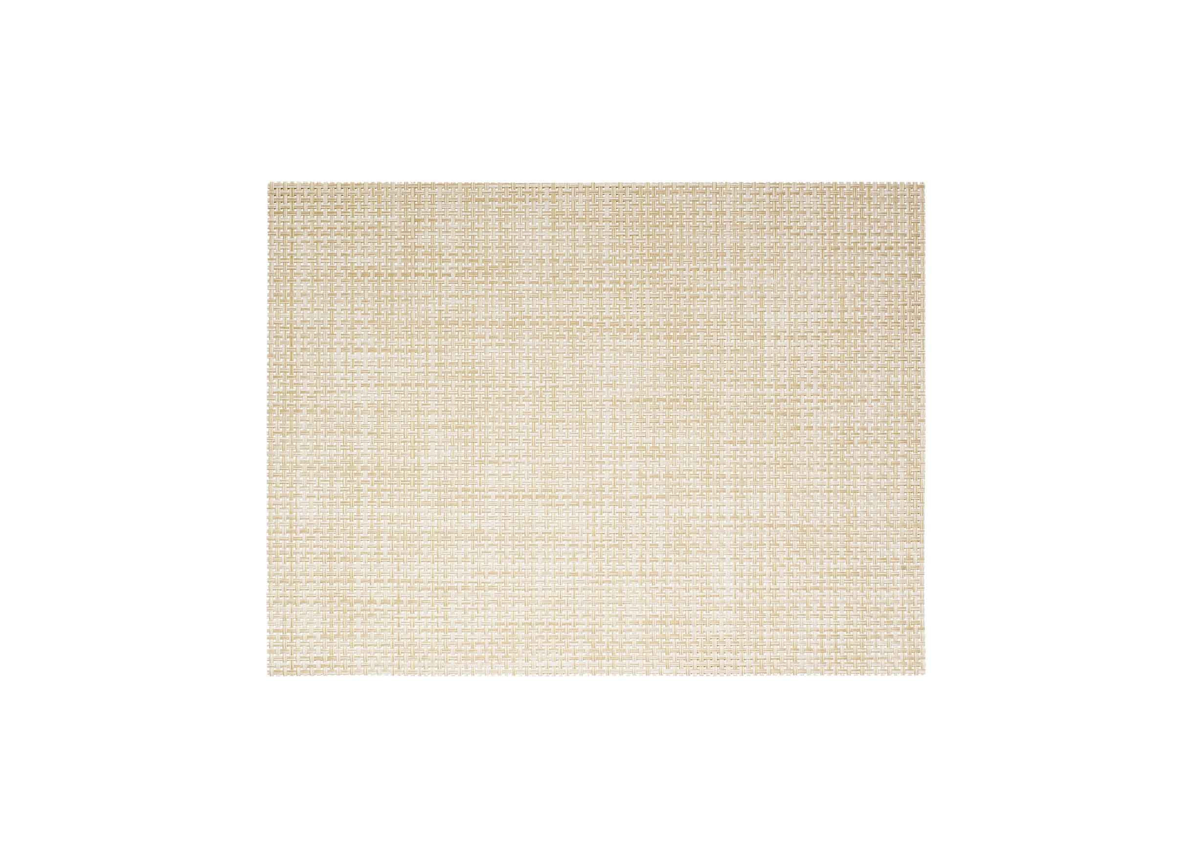"16"" x 12"" Basketweave Mat - Natural"