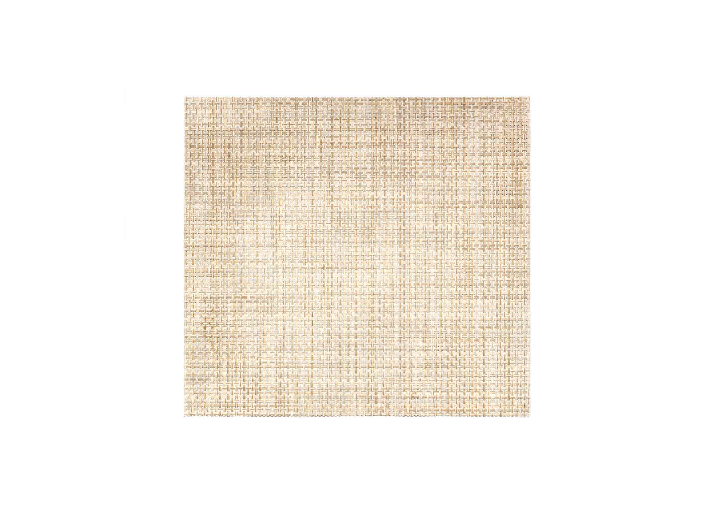 "14"" x 13"" Basketweave Mat - Natural"
