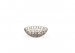 """8"""" Round Coppered Link Bowl"""