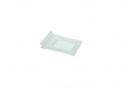 Nami Sampler Plate - Clear Glass