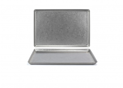 "14"" x 9.5"" Stainless Mod Plate - Antique"