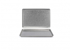 "13"" x 7"" Stainless Mod Plate - Antique"