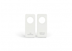 London Door Hanger - White