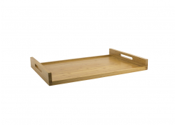"26"" x 18"" Bali Straight Handled Room Service Tray"