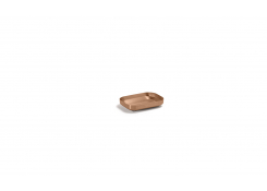 "4.75"" x 3.25"" Geneva Soap Dish - Rose Gold"