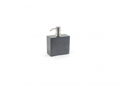 28oz New York Pump - Onyx with Mirrored Stainless Top