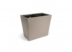 17 qt London Recycle Bin - Stone