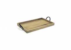 "13"" x 9"" Asheville Tray - Natural"