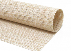 Metroweave Basketweave Mat - Natural