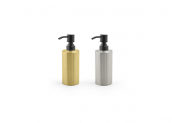 12oz Stainless Steel Soap Pump - with Matte Black Pump