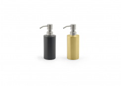 12oz Stainless Steel Soap Pump - with Brushed Stainless Steel Pump