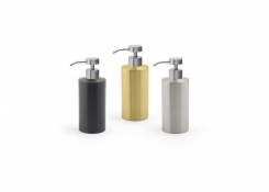 12oz Stainless Steel Soap Pump - with Nassau Brushed Pump