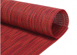 "16"" x 12"" Metroweave Urban Mat - Red"